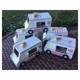 Ice Cream Trucks Garden Decor