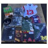 Lot of Sports Jerseys and Memorabilia