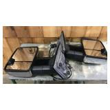 Newer Chevy/GMC Tow Mirrors Chrome and Black