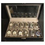 12 Reproduction Men's Watches w/ Case