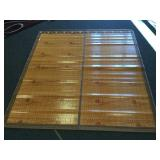 Large Bamboo Mat with Bag Doublesided