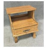 A-Brandt Wood Night Stand