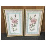 Floral Decorative Portraits