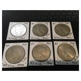 """Peace"" Silver dollars (1922-1928)"