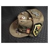 Russian Military Officer Hat with Pins