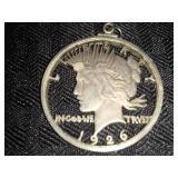 """""""Morgan Dollar Pendant"""""""