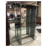 Glass, Mirrored and Lighted Display
