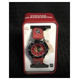 Official NHL Chicago Blackhawks Watch