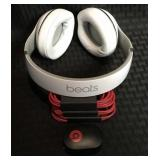 """BEATS"" Wireless Headphones - White, Never Used"