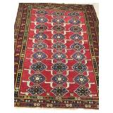 Hand Woven Middle Eastern Rug