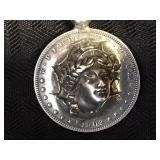 Peace Dollar Pendant - 90% Silver
