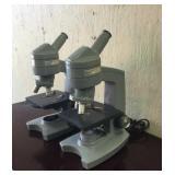 Sixty American Optical Microscopes