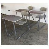 3 Adult Sled Desks