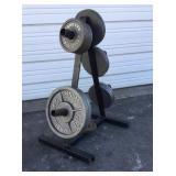 Weight/Plate Rack