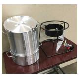 Portable Propane Outdoor Deep Frying Package