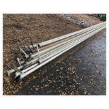 """Aluminum Irrigation Pipe 30ft x 3"""""""