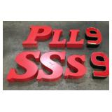 Assorted Light-Up Letters & Numbers