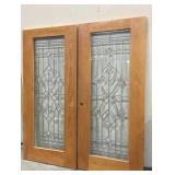 French Doors w/ Design
