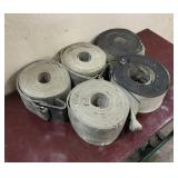 (5) 4 inch Large Tie Down Straps