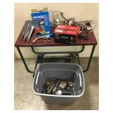 Tub of Misc Tools & Misc Items