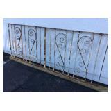 Rod Iron Fence Piece