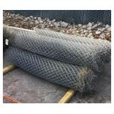 7 Rolls of Chiain Link fencing