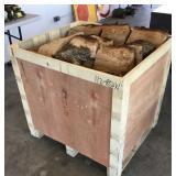 Wooden Crate of Oak Fire Wood