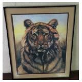Tiger Painting From Artist Martin Katon
