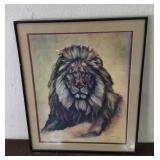 Lion Painting From Artist Martin Katon