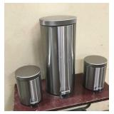 3 Fortune Candy Trash Cans