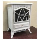 Electric Fireplace Heater 120v (White)