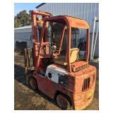 Clark Gas Froklift w/ Sideshift 4,000 lb