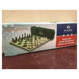 Supreme Triple Weighted Chess Set Combo (Green)