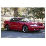 1999 Mustang Cobra SVT - Showroom Condition!
