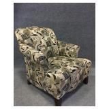 Multi-Colored Designed Cushion Chair