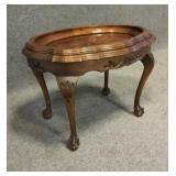End Table with Claw & Ball Feet