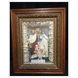 Wood Framed Religious Depictation