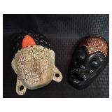 2 Wood Masks