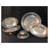 Oneida -Lakewood Tudor Plate(2), Large Plater,