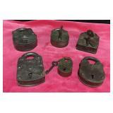 6 Vintage Locks