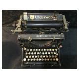 Antique Underwood No. 5 Standard Typewriter