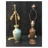 2 Cloisonné Lamps