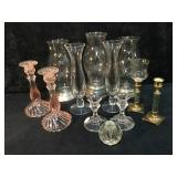 Lot of Candle Holders