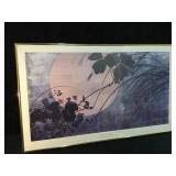Autum Grasses Print by Japanese Artist Shibata