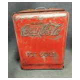 Coca-Cola Metal Electric Cooler