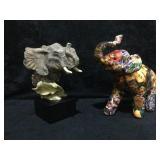 2 Elephants - Trumpet by Mill Creek Studios