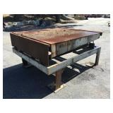 Portable Loading Dock w/ Bumper Pads & Accessories