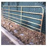 Green Fence Panel