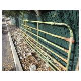 Green Panel Fence