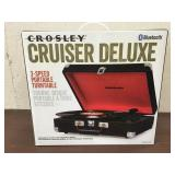Crosley Cruiser Deluxe Bluthooth 3 Speed Turntable